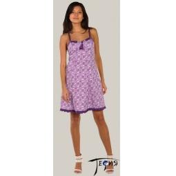 Купить Женская ночная сорочка из трикотажа 100% хб арт.  1-36