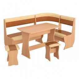 фото Набор кухонный 'Мебель Трия' Уют-1 К Люкс бук/коричневый