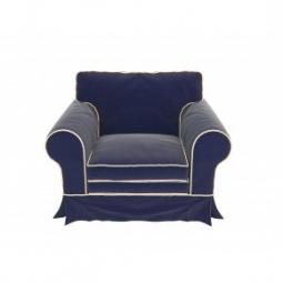 """Купить Большое темно-синее кресло """"Provance"""""""