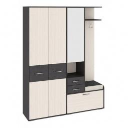 Купить Гарнитур для прихожей 'Мебель Трия' Пикассо 2.2 венге цаво/дуб белфорт