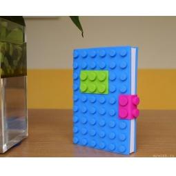 Купить Блокнот Лего (синий)