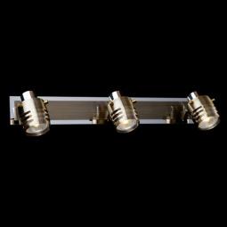 Купить Спот 23463/3 хром/античная бронза Eurosvet
