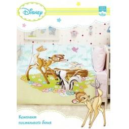 Купить КПБ для новорожденных Disney Бемби и друзья Бязь БД-К-1 Мона Лиза