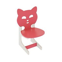 Купить Детский стульчик КОТИК коралловый