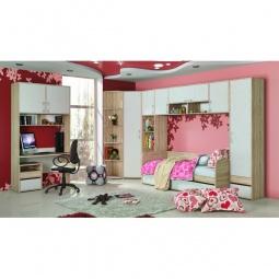 Купить Гарнитур для детской 'Мебель Трия' Атлас ГН-186.005 дуб сонома/хаотичные линии