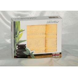 фото Набор полотенец из Бамбука Turkiz 50*90 + 70*140 см plt095-8 Турция