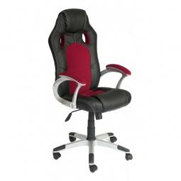 Купить Кресло компьютерное 'Tetchair' Racer черный_бордовый