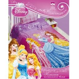 Купить Комплект белья для девочки Disney Бязь 1,5 Принцессы в замке  25078  Мона Лиза