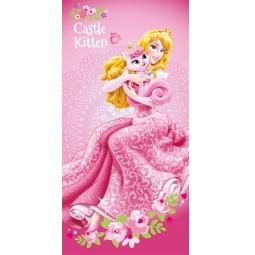Купить Полотенце Принцесса в розовом 100% Хлопок 70*140 см 39019 Мона Лиза