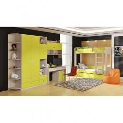 Купить Набор для детской 'Мебель Трия' Аватар ГН-201.003 каттхилт/лайм
