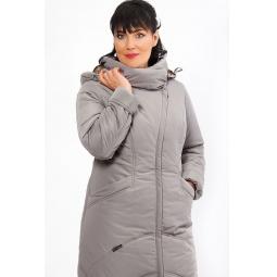 """Купить Пальто """"Ламбро"""" - серый"""