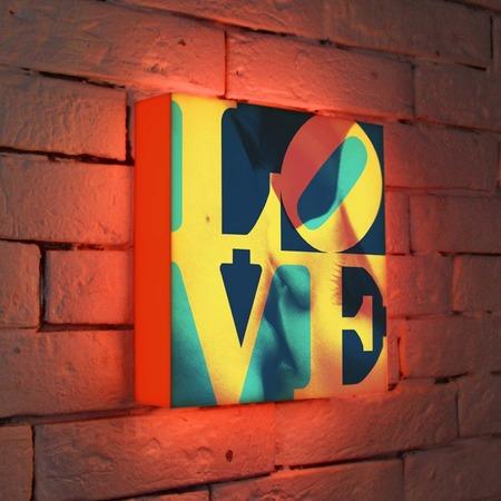 """Купить Лайтбокс """"LOVE 1"""" 25x25-041 FotonioBox"""