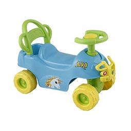Купить Каталка HERO ATV с клаксоном голубая
