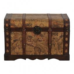 Купить Сундук 'Петроторг' 2580S коричневый с рисунком