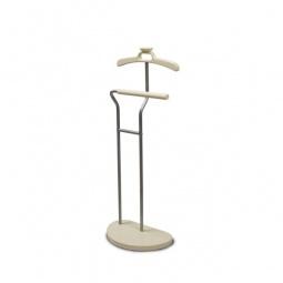 Купить Вешалка для костюма 'Мебелик' Декарт Д-10 металлик/слоновая кость