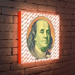 """Купить Лайтбокс """"Franklin"""" 45x45-123 FotonioBox"""