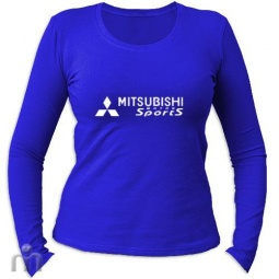 Купить Женская футболка с длинными рукавом «Mitsubishi Sports»