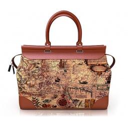 Купить Дизайнерская дорожная сумка-саквояж с принтом Sacvoyage 121
