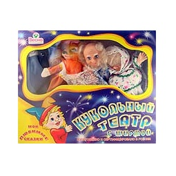 Купить Кукольный театр, 4 персонажа