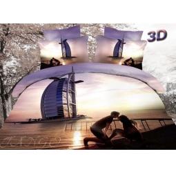 фото Постельное белье сатин евро 3D ts03-688 Tango