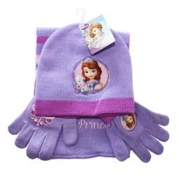 Купить Набор шапка+шарф+перчатки София
