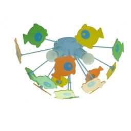 фото Потолочная люстра Citilux Рыбки 1300 Citilux