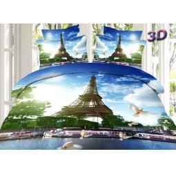 фото Постельное белье сатин евро 3D ts03-677 Tango