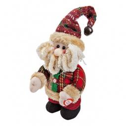 Купить Дед Мороз 'Mister Christmas' (20 cм) музыкальный CHL-317SN