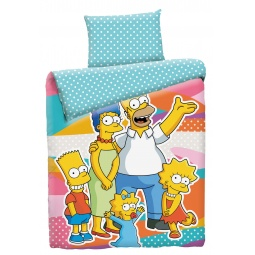 Купить Постельное белье семейка Симпсонов бязь 1,5 спальное 200141 Мона Лиза