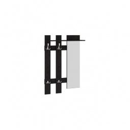Купить Вешалка настенная 'Мебель Трия' Арт (мини) с зеркалом, венге цаво