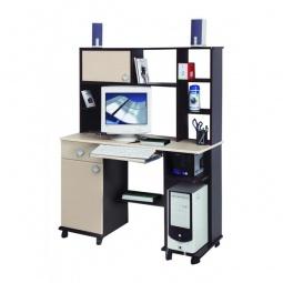 Купить 'Олимп-мебель' Стол компьютерный Костер-6 5210-06 венге/клен