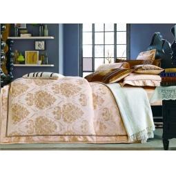 фото Постельное белье Жаккард с вышивкой Семейный tj112-437 Tango