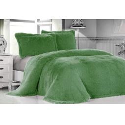 фото Плед Меховой Лама зеленая акварель 160*220 см DCT072D-9-160 Tango