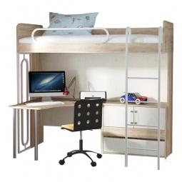 Купить Набор для детской 'Мебель Трия' Атлас ГН-186.008 дуб сонома/хаотичные линии