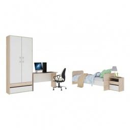 Купить Набор для детской 'Мебель Трия' Атлас ГН-186.000 дуб сонома/хаотичные линии