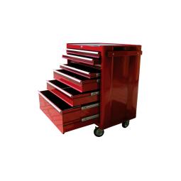фото Тележка инструментальная BIG RED TBR3007-X, 7 выдвижных полок
