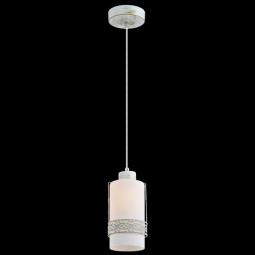 фото Подвесной светильник Eurosvet 50021/1 белый с золотом Eurosvet