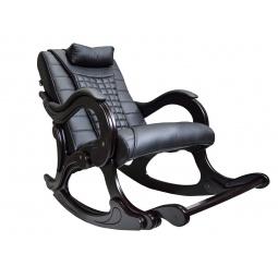 фото Массажное кресло-качалка EGO WAVE EG-2001 ELITE (цвет Антрацит, натуральная кожа)