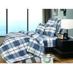 Купить Двуспальное постельное белье Поплин А139-2 СайлиД