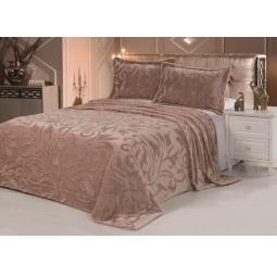 Купить Плед Vermont 220*240 см + 2 наволочки DCT100-9-220 коричневато-розовый Tango