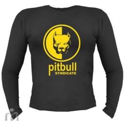 Купить Мужская футболка с длинными рукавом «Pitbull syndicate»