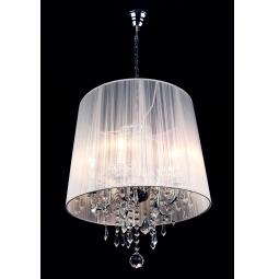 фото Подвесной светильник Eurosvet 2045 2045/5 хром/белый Eurosvet