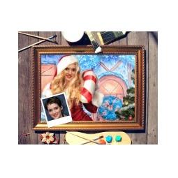 Купить Новогодний портрет по фото *Снегурочка*