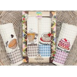 фото Набор полотенец для кухни из 2х штук с вышивкой PLT180-4 Tango