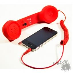 Купить Ретро трубка для мобильного телефона (красная)