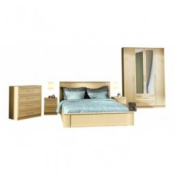 Купить Гарнитур для спальни 'Столлайн' Юлианна 1 венге светлый