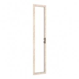 Купить Дверь распашная 'Любимый Дом' Александрия 125.001с зеркалом кожа ленто