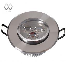 фото Встраиваемый светильник MW-Light Круз 637012703 MW-Light