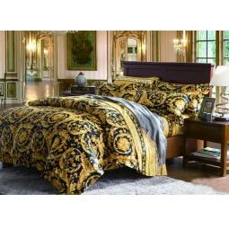фото Комплект постельного белья Сатин Евро DeLux TIS80-04 Tango