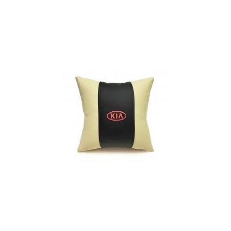 Купить Автомобильная подушка из эко-кожи KIA